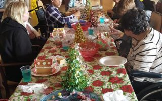 resident activity christmas party