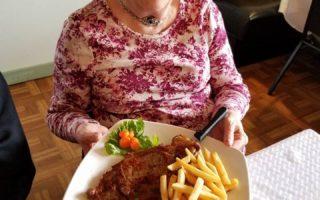 resident activity st patricks day corned beef