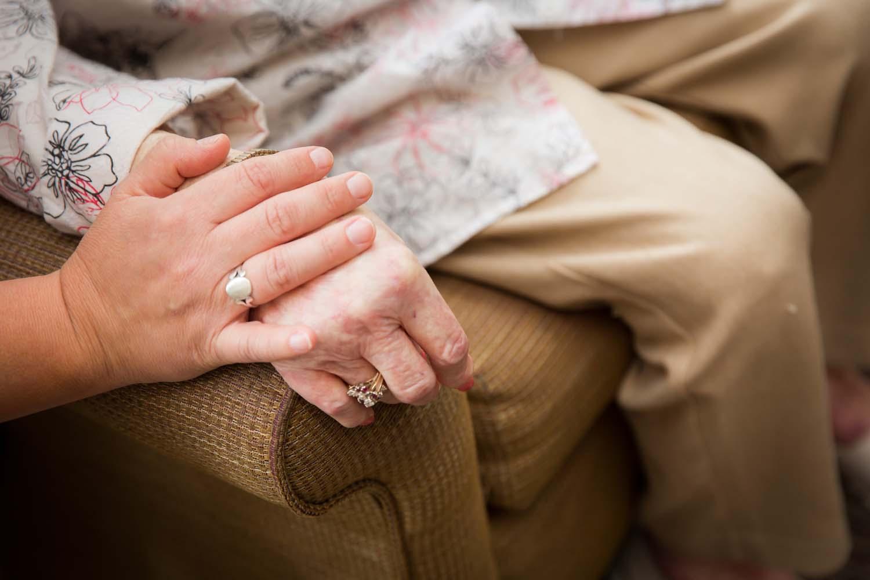 nursing home caring staff